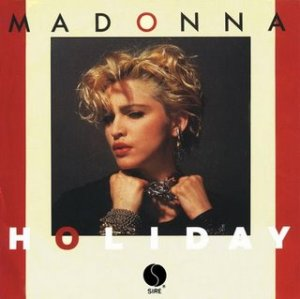 Portada del single Holiday, 1983